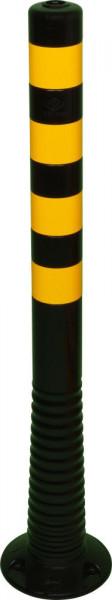 Flexipfosten 1000mm, D 80mm, schwarz