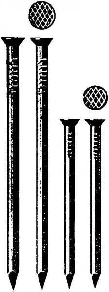 Drahtstift vers. blank 2,5x 55 a 2,5kg