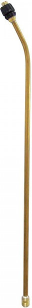 Spritzrohr, 50cm mit Flachstrahldüse 1421F