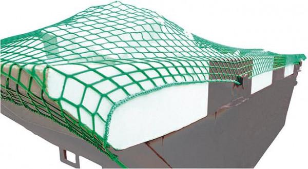 Containernetz 4,0x3,0 m MW 45 grün ohne Gummi