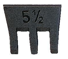 Hammerkeil SFIX Größe 00 13mm Steinmetz