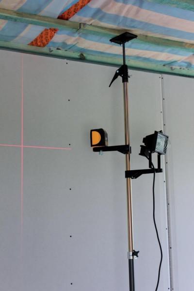 Magnethalter für Laser