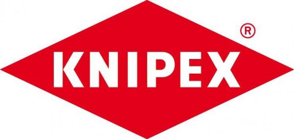 Storchschnabelzange VDE gerade mit Mehrkomponenten-Griffen 200mm KNIPEX