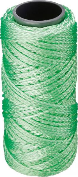 Maurerschnur PP fluoresz.1,3mm 50m grün Overmann