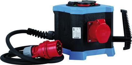 Steckdosenverteiler IP443xSchuko,2xCEE 5x16A Hedi