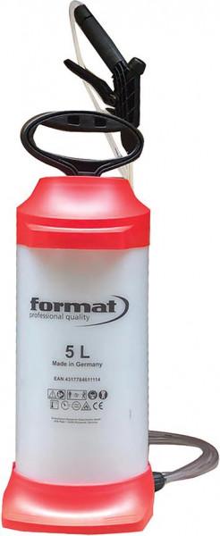 Druckdsprühgerät, 5 ltr. FORMAT