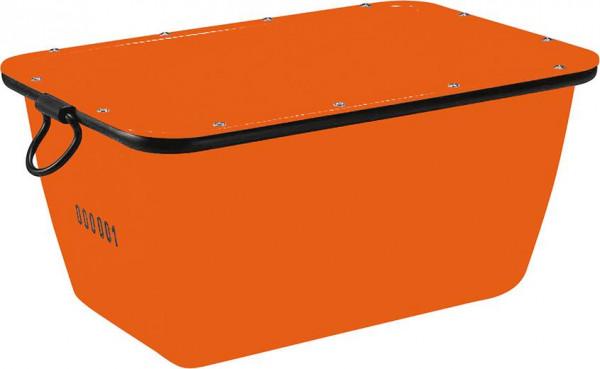 Mörtelkübel 200 L, orangekranbar