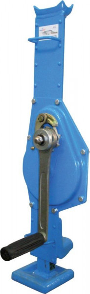 Stahlwinde blau RAL5012 1,5t Hublast Gesutra