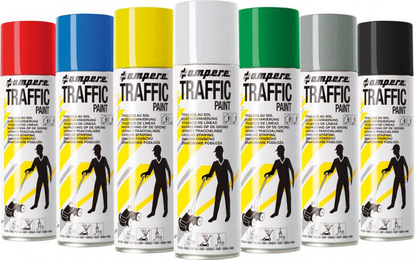 Bodenmarkierspray Traffic Paint 500ml gelb