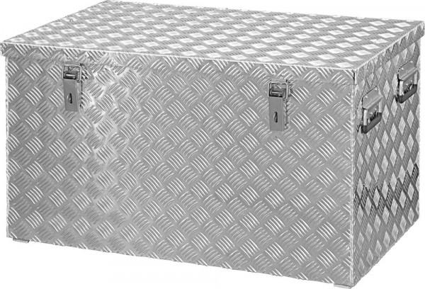 Alu Transportkiste 878x475x480mm Riffelblech200 Liter Format