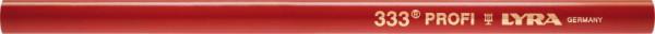 Zimmermanns-Bleistift 333oval rot 24cm LYRA