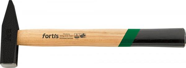 Schlosserhammer DIN1041 mit Hickorystiel 500g FORTIS