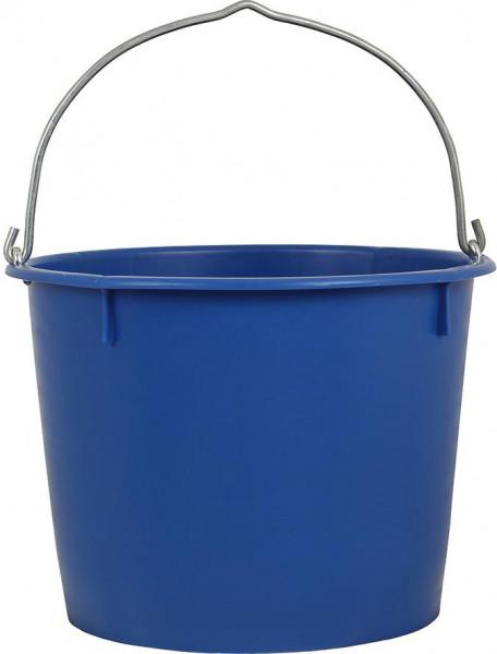 Baueimer 20 L, kranbar blau