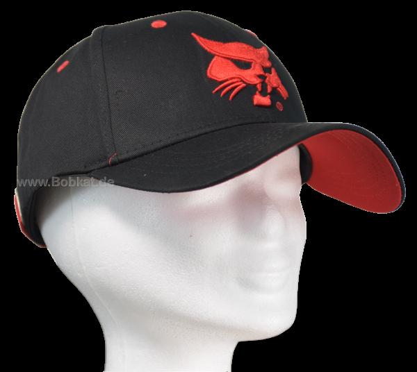 Cap Schwarz&Rot