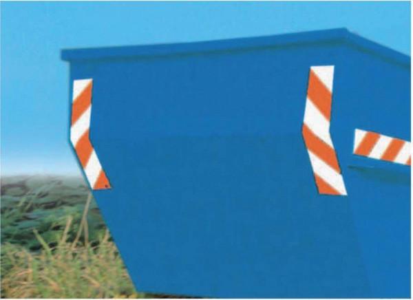 Containermarkierung 141x705mm 1.Satz