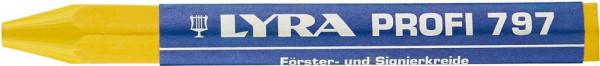 Förster- und und Signierkreide 797 gelb a12Stück LYRA