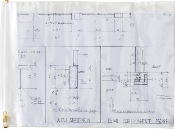 Planschutztasche 900 x 1250mm (A0)