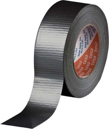 Tesa Duct Tape 50m:48mm silber 4662 Gewebeband