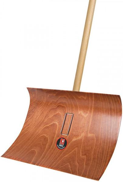 Schneeräumer Pressholz mit Stiel 55 cm breit
