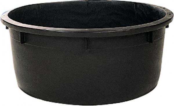 Spezialkübel rund schwarz, 150 l