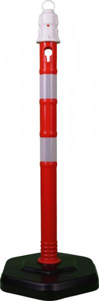 Kettenpfosten, r/w, 1000mm, Ø 63mm