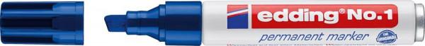 Permanentmarker 1 blau edding