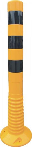 Flexipfosten 1000mm, D 80mm, gelb