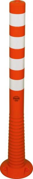 Flexipfosten 1000mm, Ø 80mm, orange