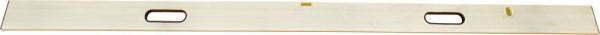 Richt- und Abziehlatte 4,0m m. 2 Lib u. 2 Griffe