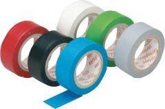 Isolierband weich PVC, 4,5 m , 6 Rll.farbig sort