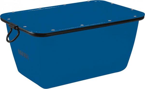 Mörtelkübel 200 L, blau kranbar