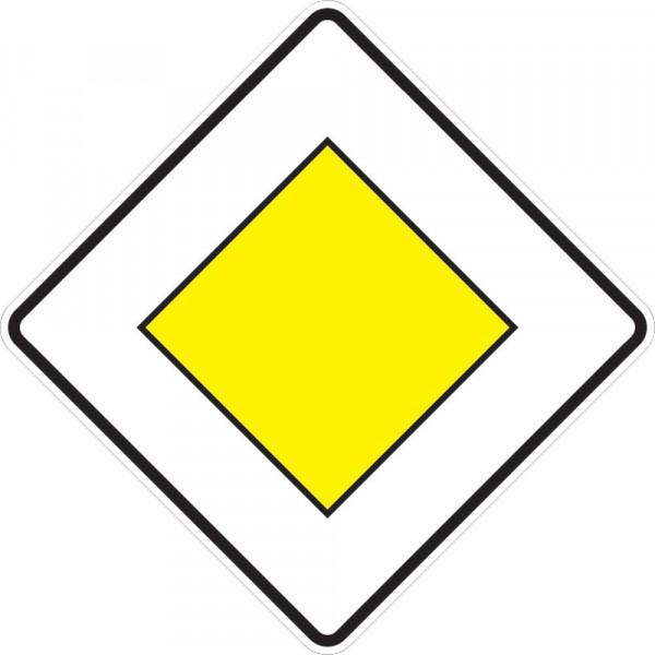 VKZ.306, 600x600mm Vorfahrtstraße