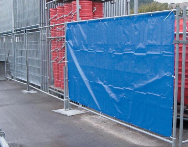 Bauzaunplane, blau 1,76 x 3,41