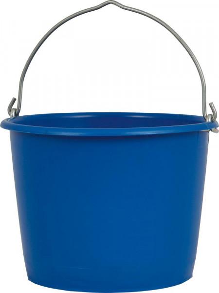 Baueimer 12 L blau m. Metalösenbügel 6mm