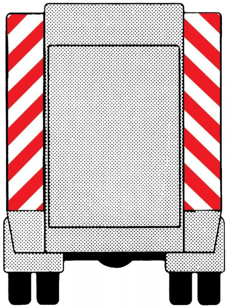 Fahrzeug-Warnmarkierung AW.1 141mm
