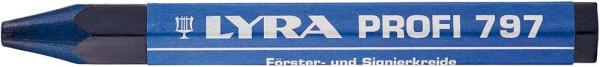 Förster- und und Signierkreide 797 blau a12Stück LYRA