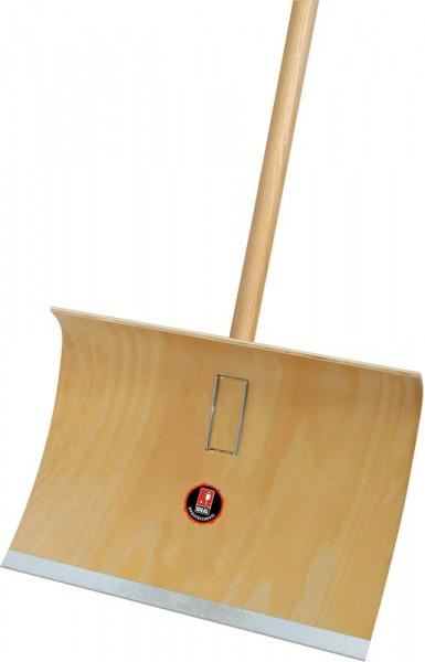 Schneeräumer Sperrholz mit Stiel 50 cm breit
