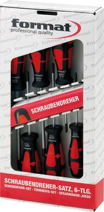 Schraubendreher-Satz Torx6-teilig FORMAT