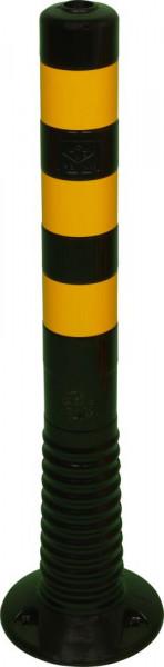 Flexipfosten 750mm, D 80mm, schwarz