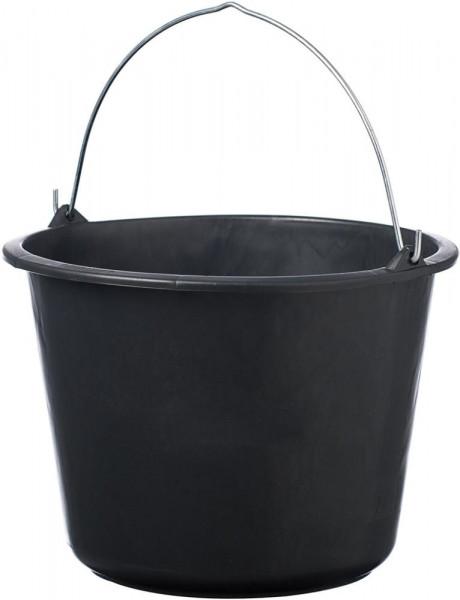 Baueimer Schwarz 12 L
