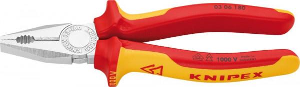 Kombinationszange VDE mitMehrkomponenten-Griffen 180mm KNIPEX