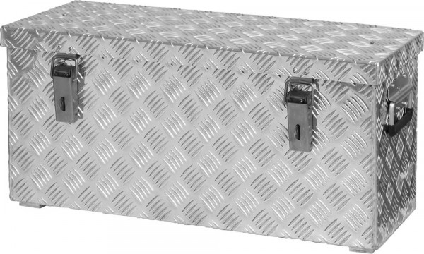 Alu Transportkiste 628x275x280mm Riffelblech48 Liter Format
