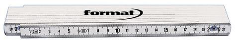 Gliedermaßstab Kunststoff 2mx16mm FORMAT
