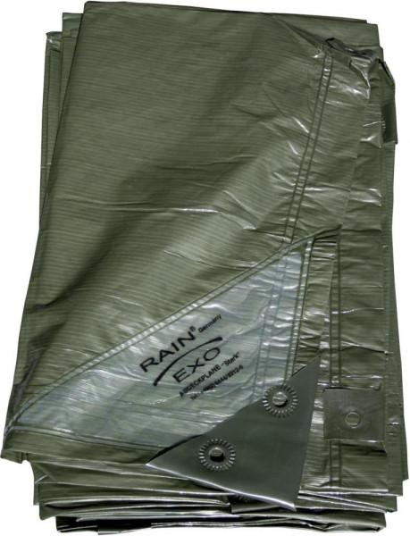 Rainexo - Abdeckplane grün, 90g/qm, 10x15m