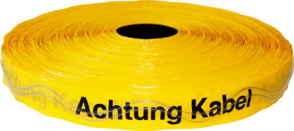 Ortungsband 250m Achtung Kabel