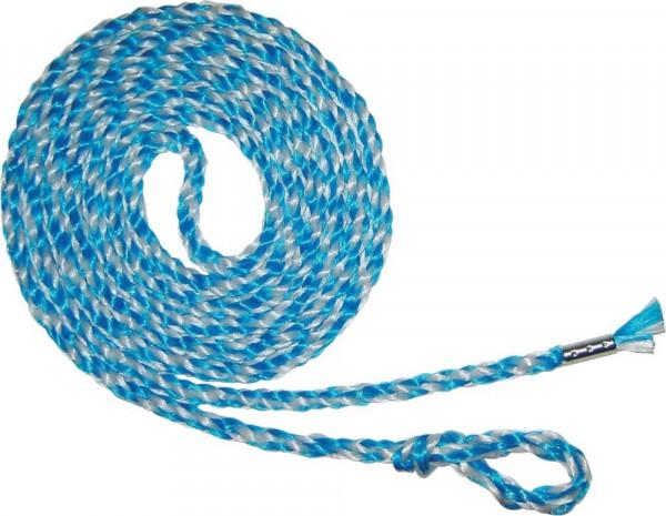PP - Bindestrick Ø 8mm 250cm lang, blau / weiß